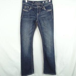 Miss Me Jeans Size 25 Easy Boot Denim Embellished